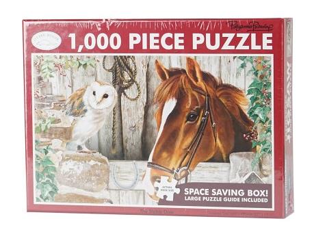 Puzzle 1000 pièces Cheval à l\'écurie