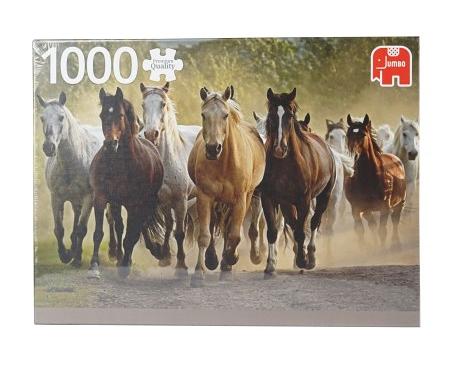 Puzzle 1000 pièces Troupeau de chevaux