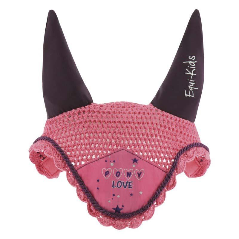 Bonnet chasse-mouches EQUI-KIDS Pony love Pégase