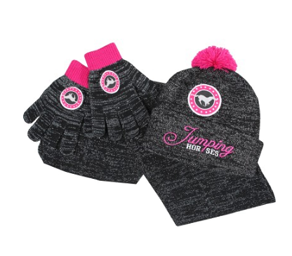 Set Hiver Junior Red horse