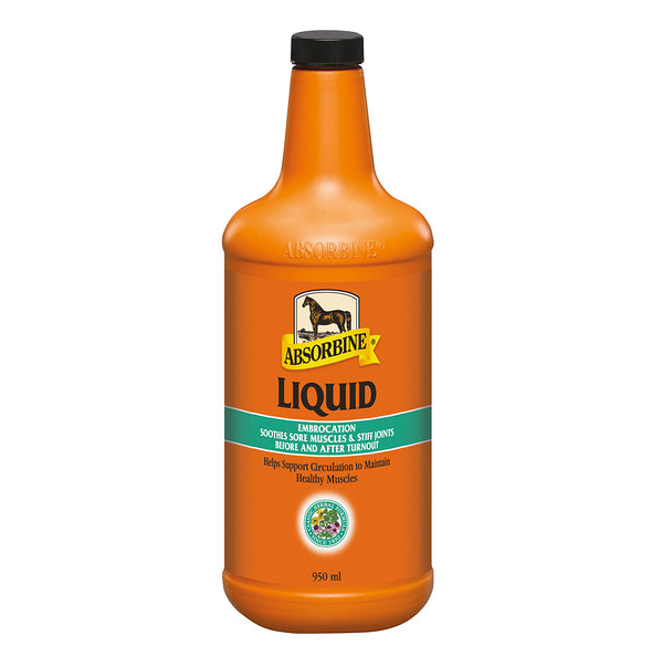 Veterinary liniment liquide Absorbine