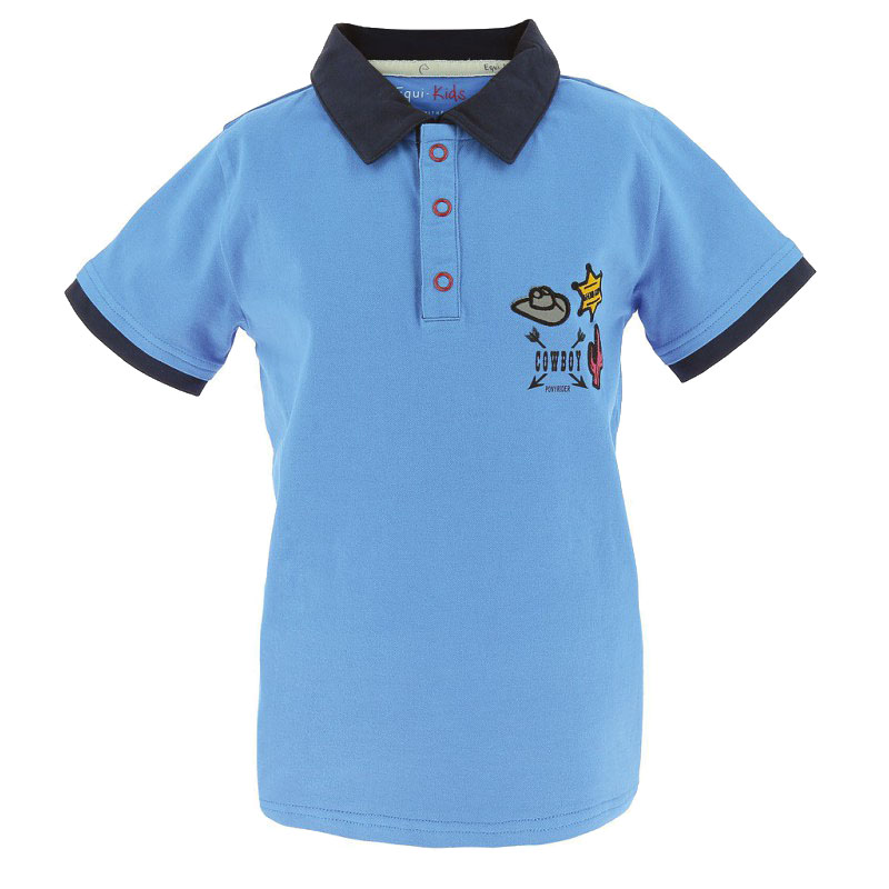 Polo EQUI-KIDS Cowboy