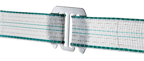 Plaque Raccord ruban de clôture x5