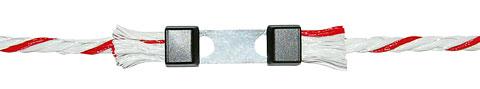 Raccord Litzclip Inox pour cordelette x5