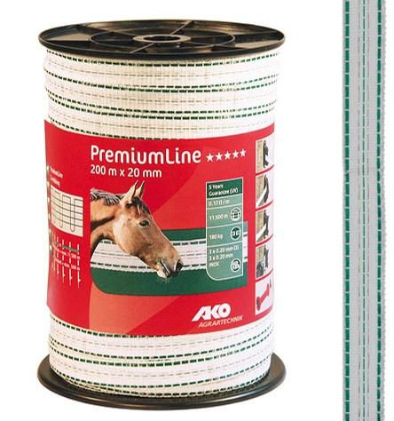 Ruban de clôture PremiumLine 20 mm