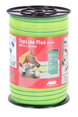 Ruban de clôture TopLine Plus Visibilité 30 mm