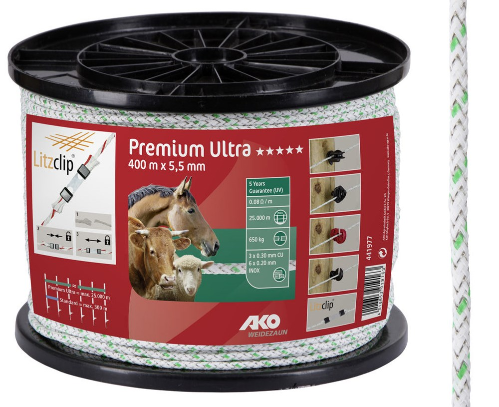 Cordelette de clôture Premium Ultra