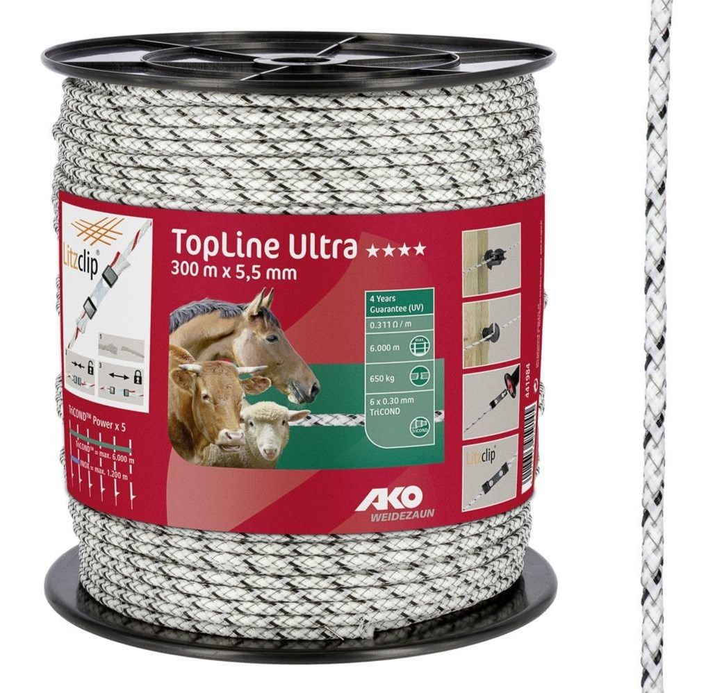 Cordelette de clôture TopLine Ultra