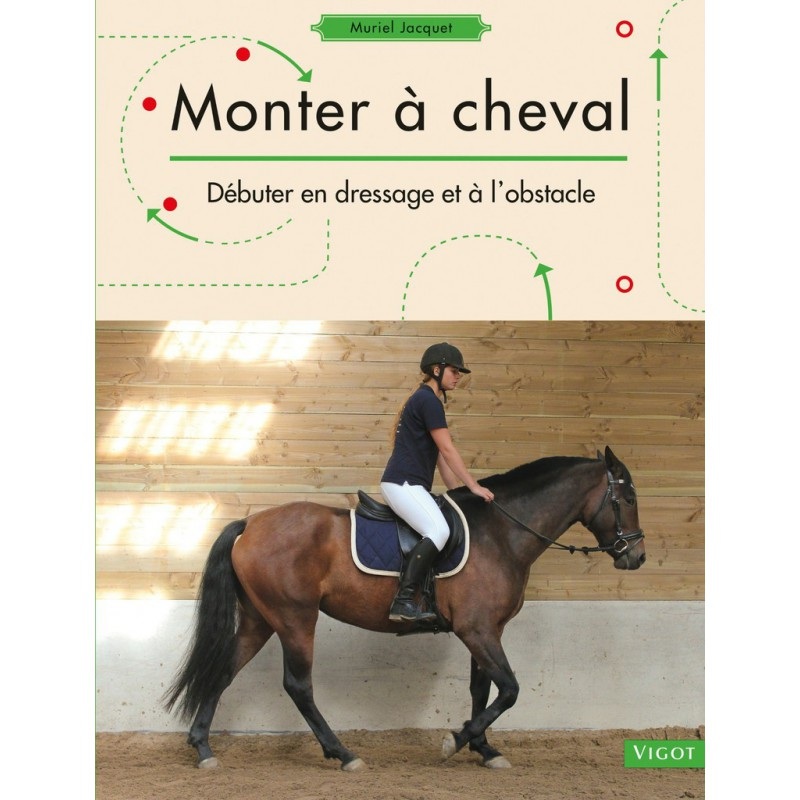 Monter à cheval: débuter en dressage et à l\'obstacle