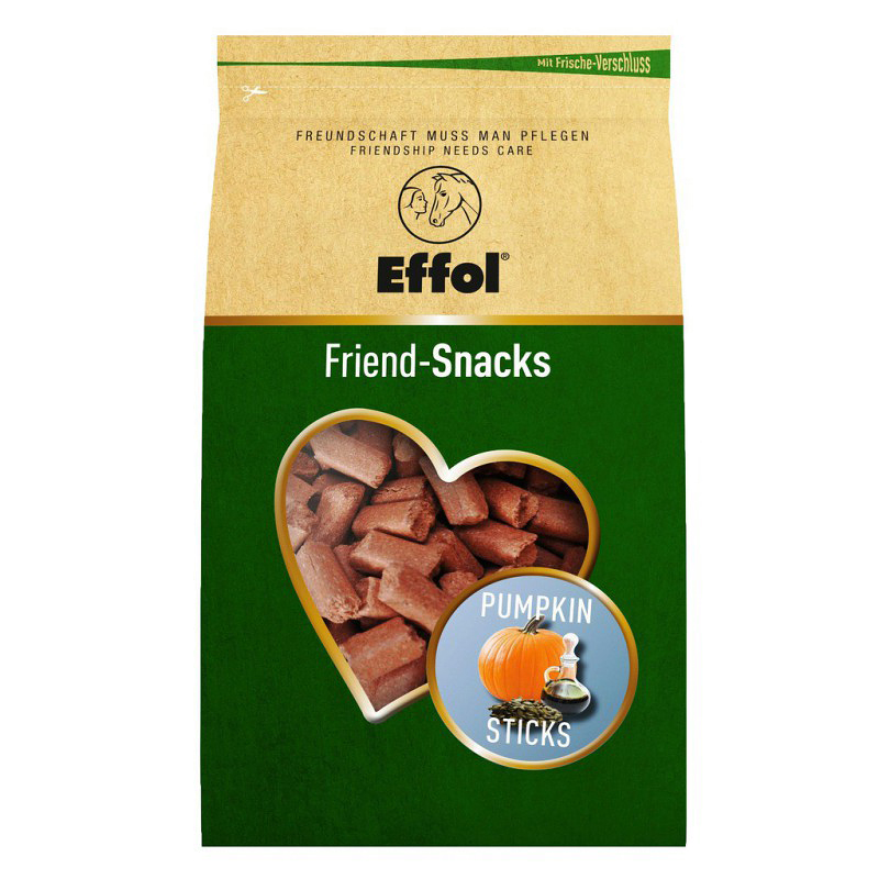 Effol Friend Snacks goût Citrouille