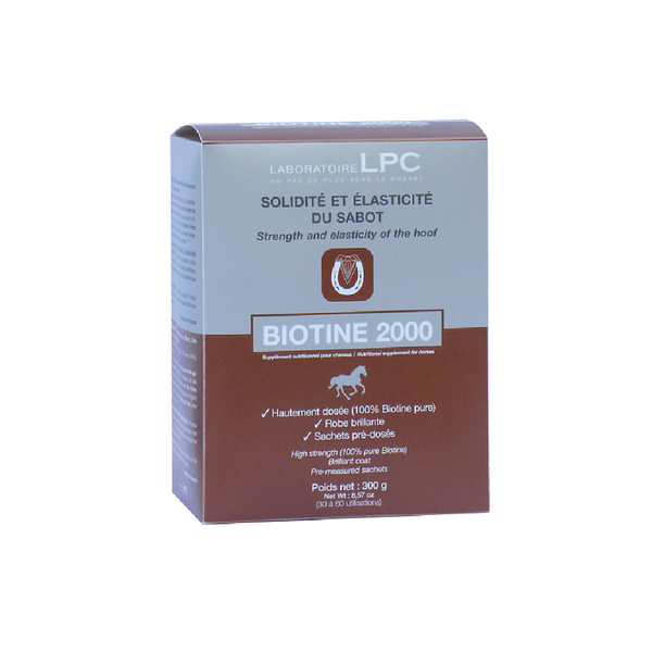 Sachets de Biotine 2000 LPC