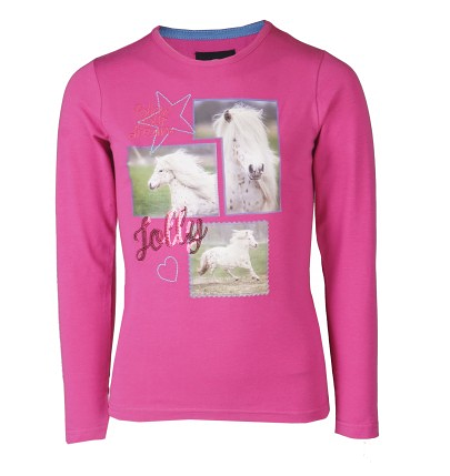 T-shirt manches longues Pony