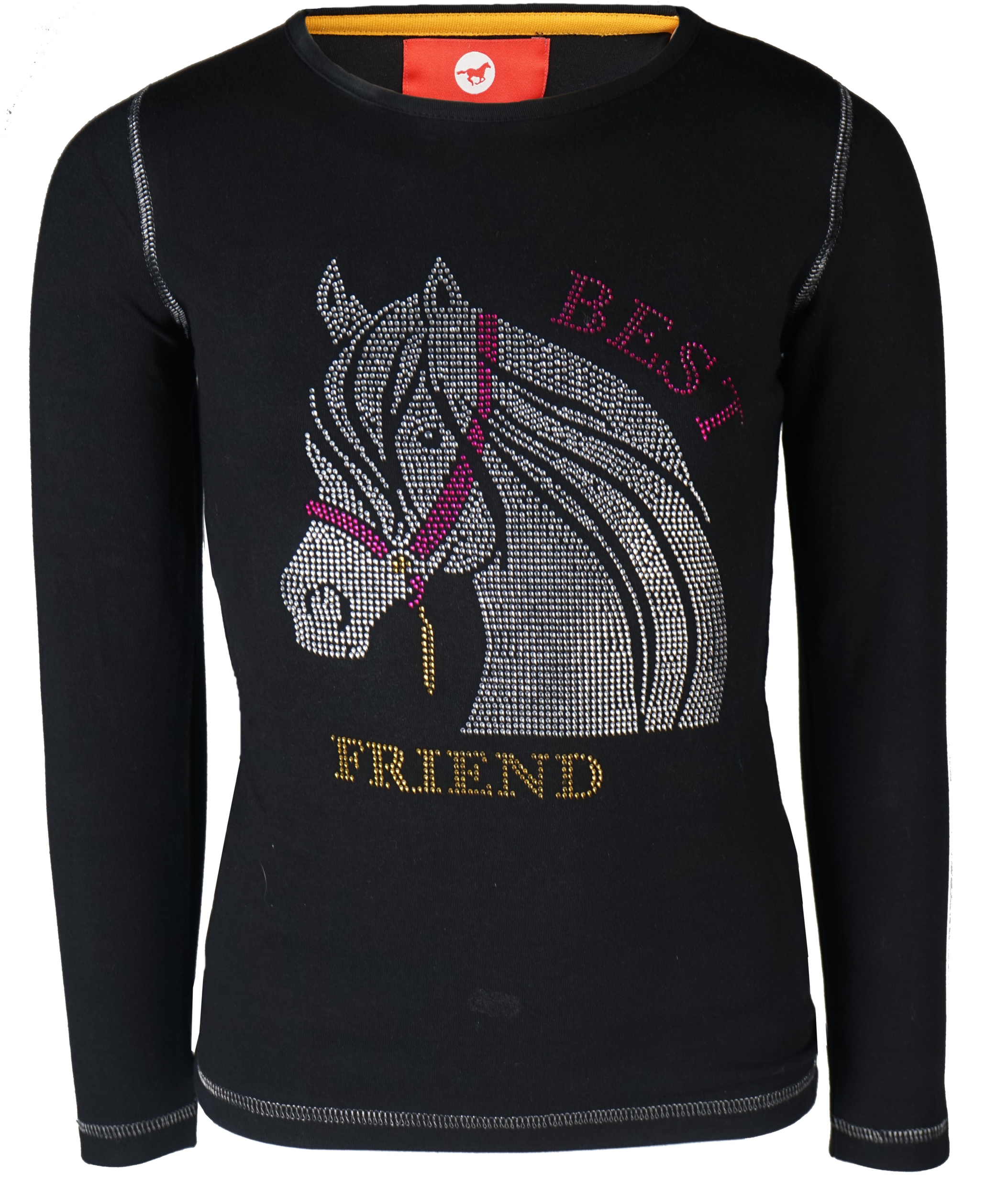 Tee-shirt enfant manches longues Flash Best Friend