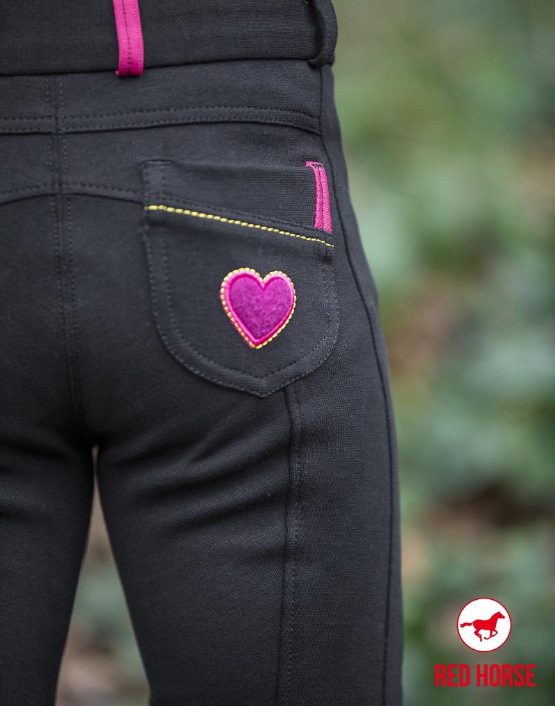 Pantalon d\'équitation Junior Coeur