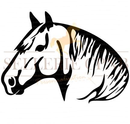 Sticker Cheval de trait
