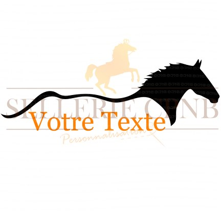 Sticker Cheval ligne
