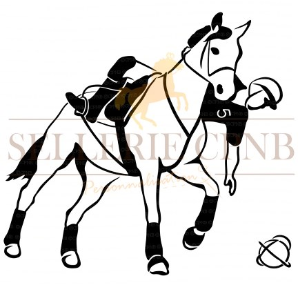 Sticker Horse ball