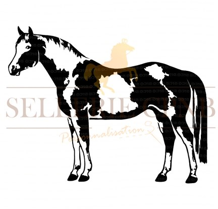 Sticker Paint horse
