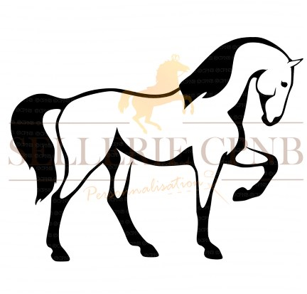 Sticker Cheval frimeur