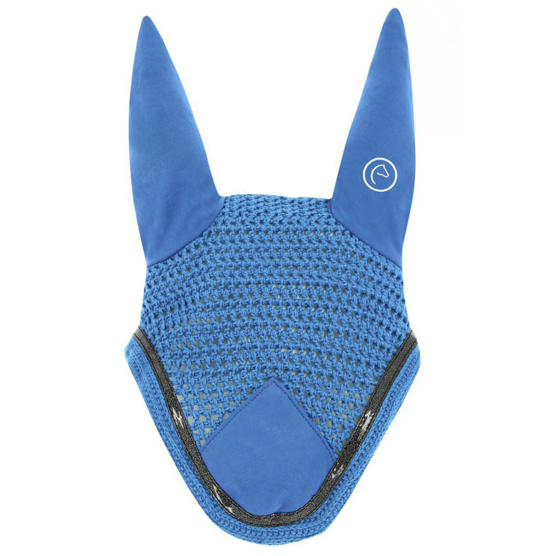 Choco//Tresse Cheval EQUITHEME Bonnet Chasse-Mouches Infinity Couleurs Taille Equipement Cheval
