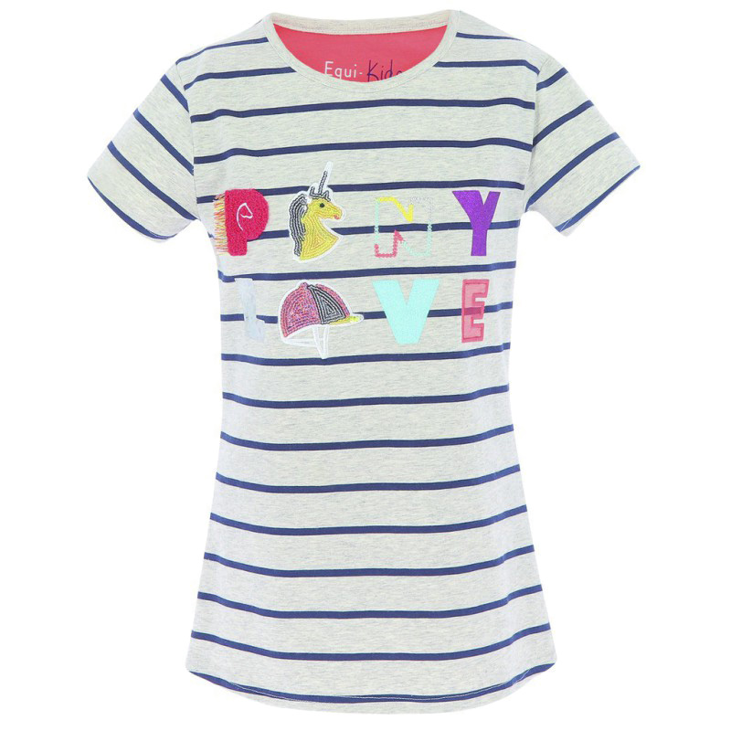 Tee-shirt Equi-kids Cloé