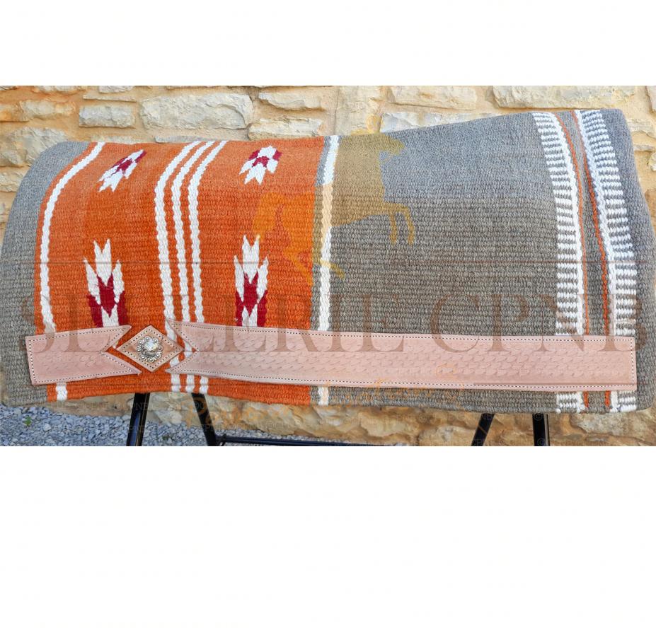 Tapis western wool Protanner