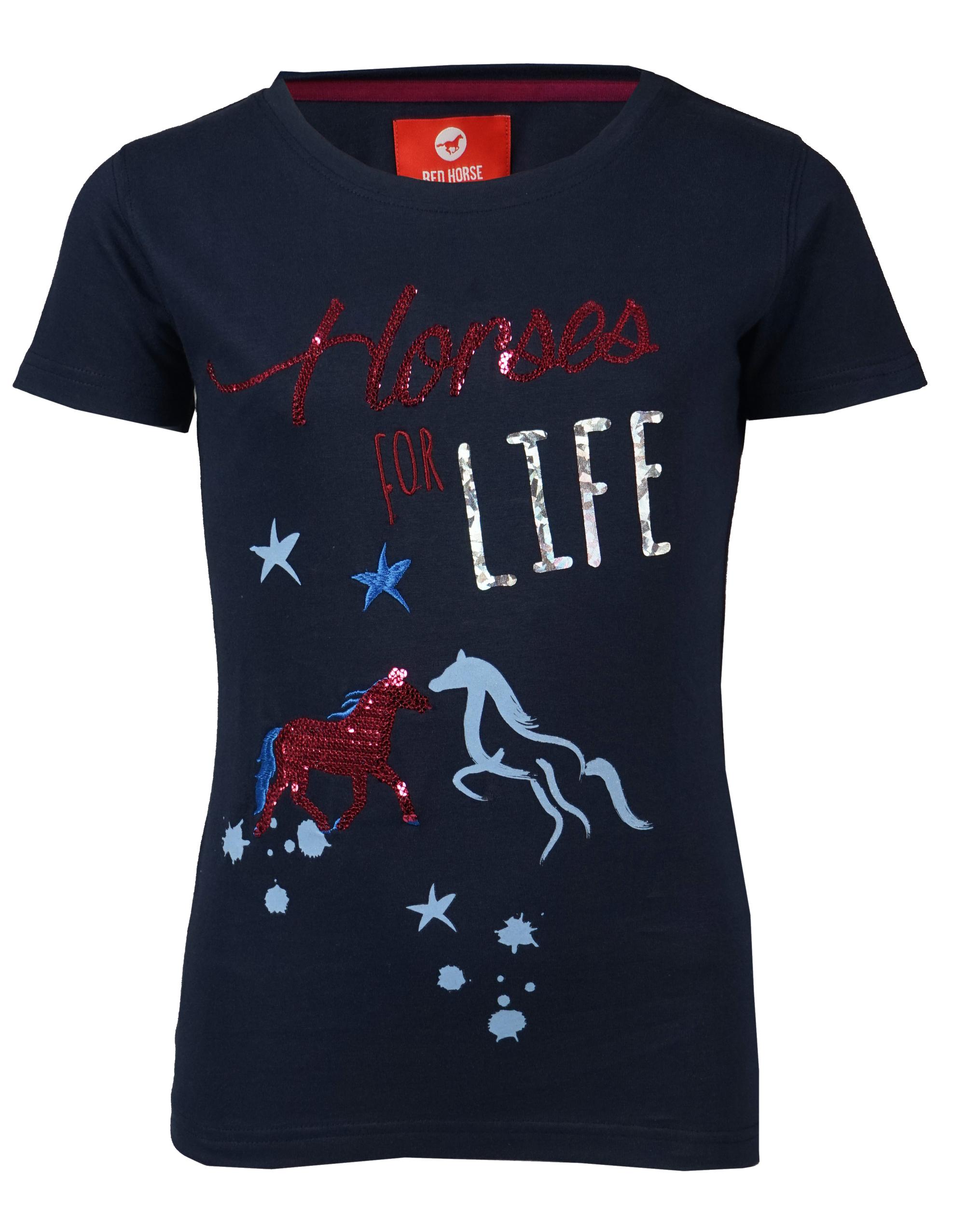 Tee-shirt Horses for life