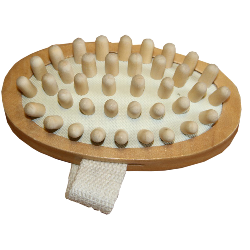 Brosse de massage Borstiq à picot