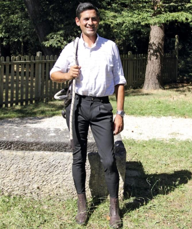 Pantalon d\'équitation à pinces Performance Alex