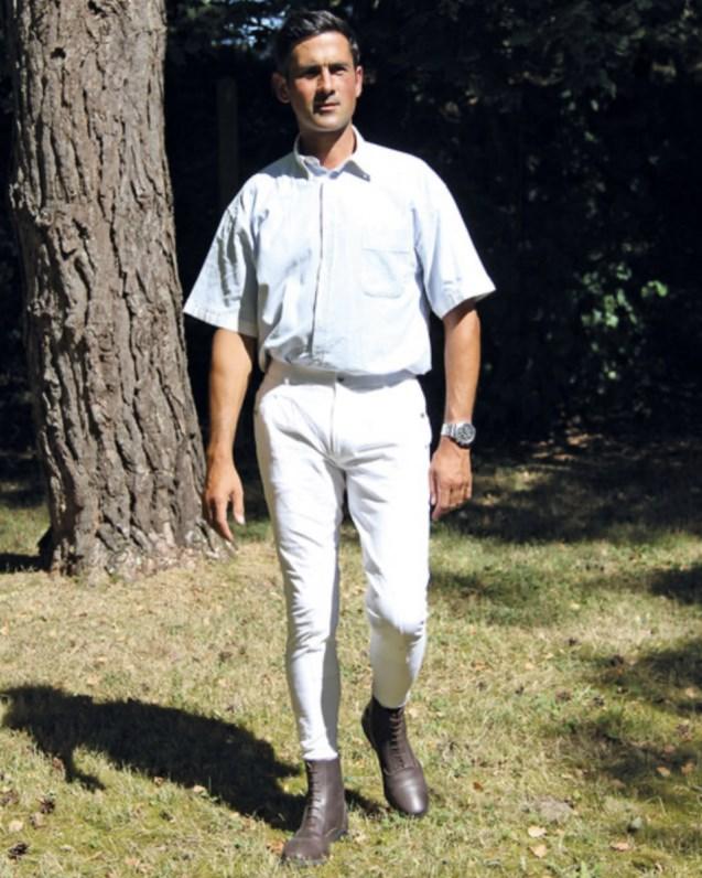Pantalon d\'équitation à pinces Performance Fabio