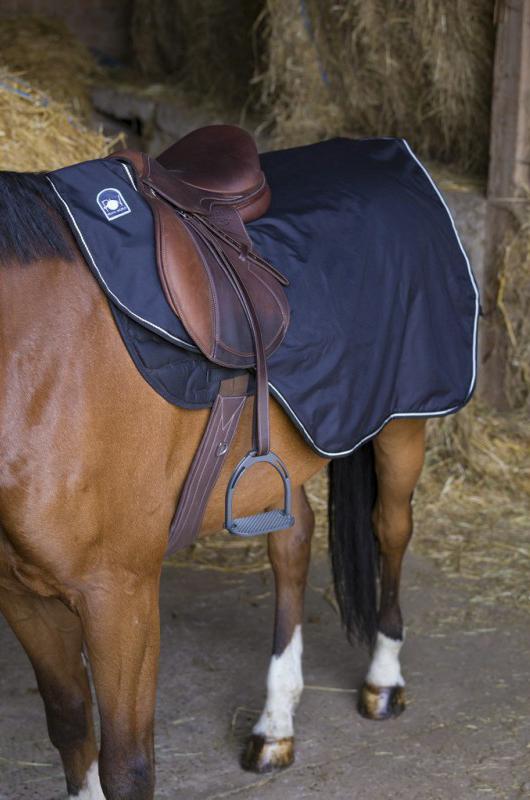 Couvre-reins Riding World Imperméable doublé Polaire
