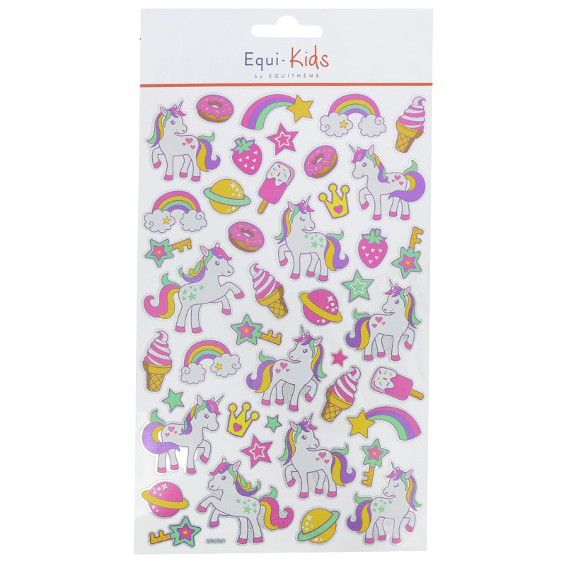 Stickers Equi-Kids Sweet Licorne x5