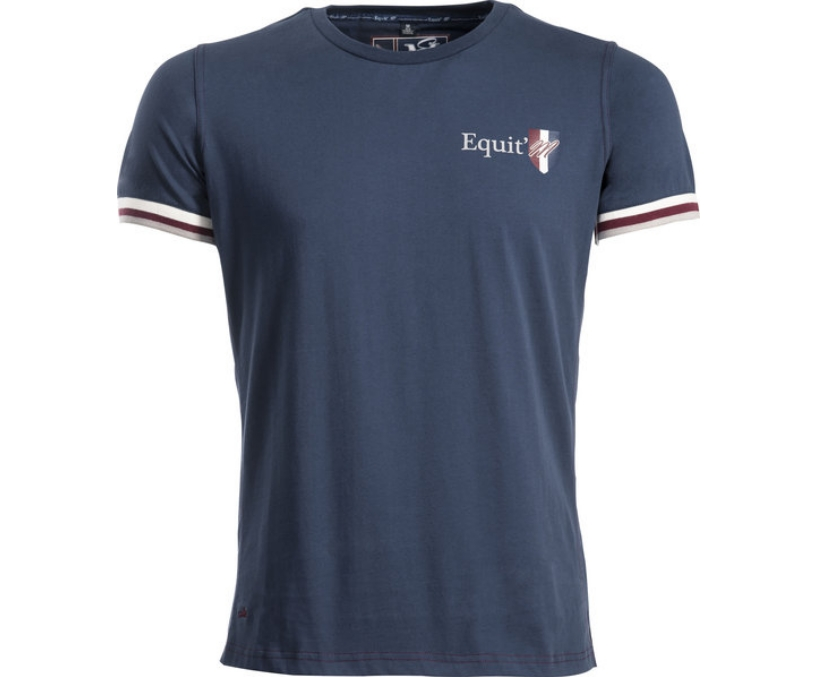 tee-shirt homme equit'm e.l. manches courtes - vêtements d