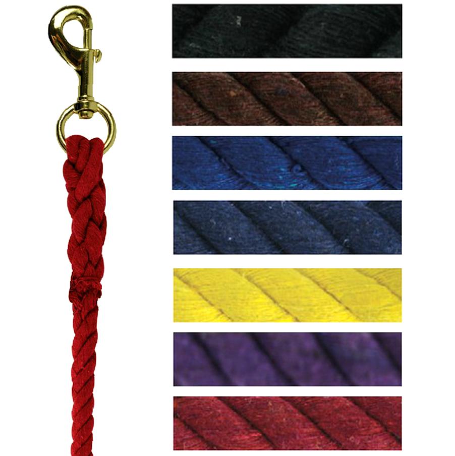 Longe coton torsadé