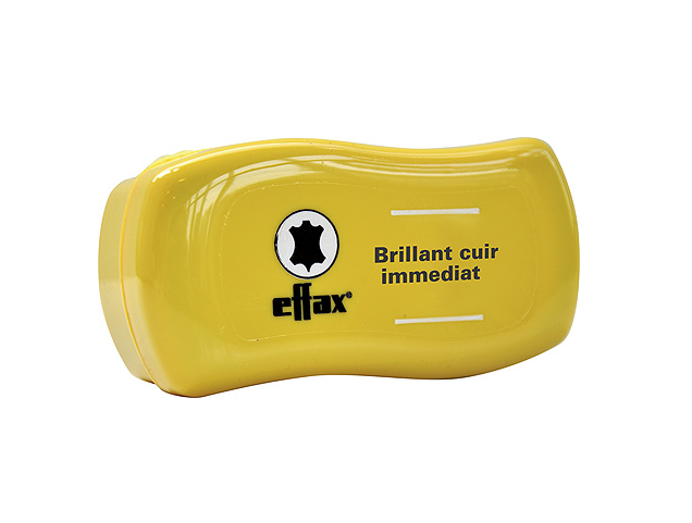 EFFAX Éponge à lustrer pour cuir