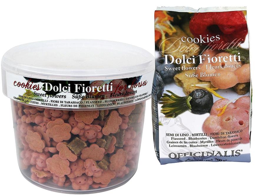 Cookies OFFICINALIS Fleurs Douces Myrtilles/Lin/Pissenlit