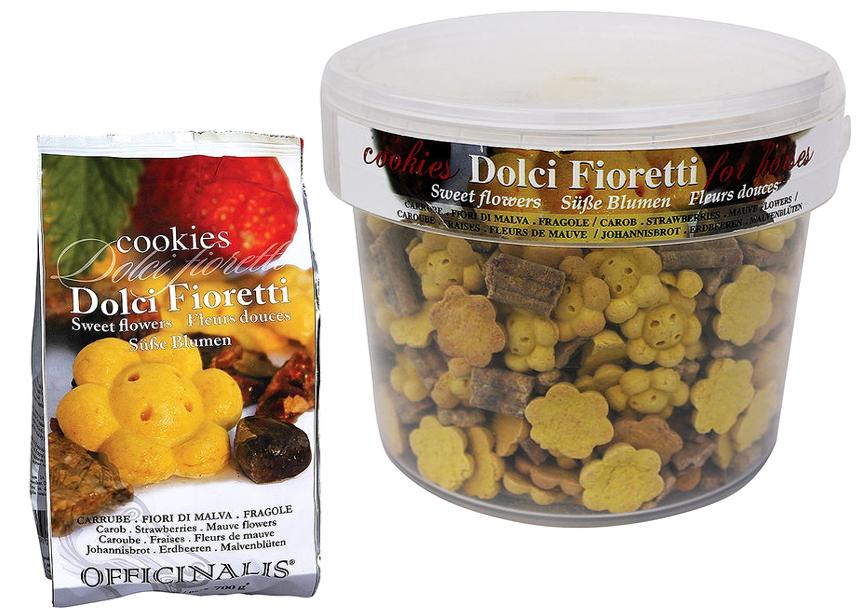 Cookies OFFICINALIS Fleurs Douces Caroube/Fraises/Mauve