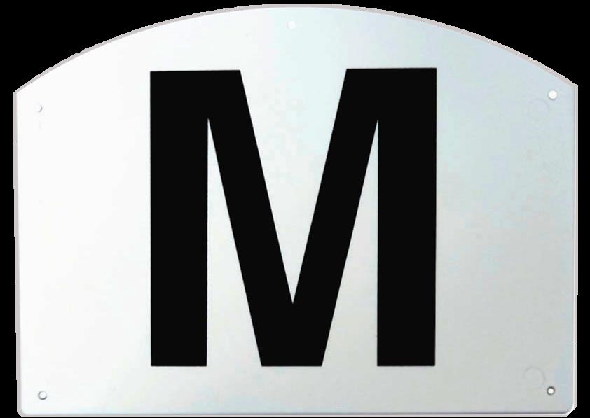 Set de 12 lettres de manège support plastique