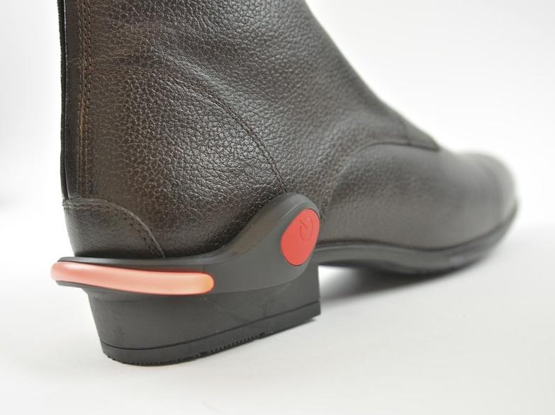 Réflecteur lumineux pour chaussure