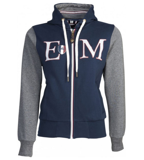 Sweat zippé coton Equit'M