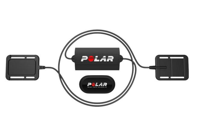 Set Electrodes avec émetteur de fréquence cardiaque H3 Equin POLAR