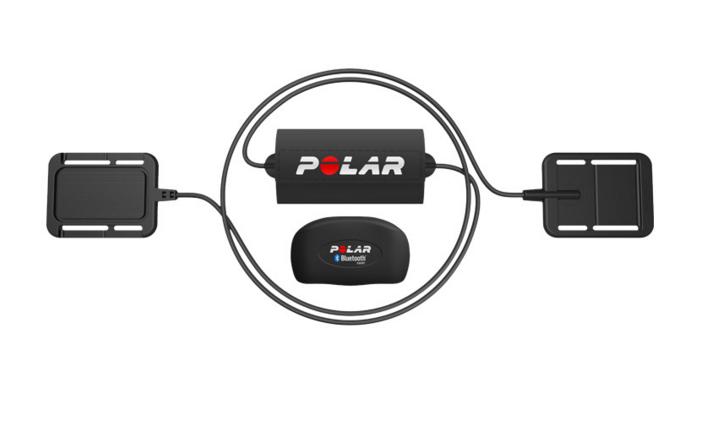 Set Electrodes avec émetteur de fréquence cardiaque H7 bluetooth smart Equin POLAR (remplace l\' émetteur T52H)