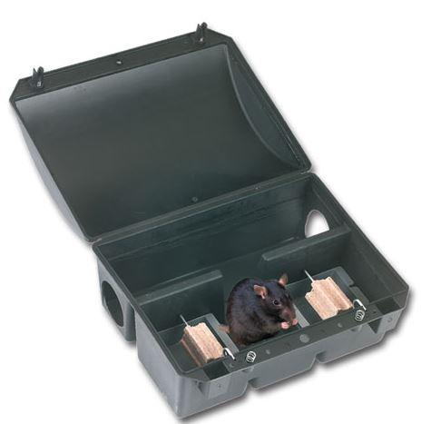 Boîte d\'appâts BlocBox PVC