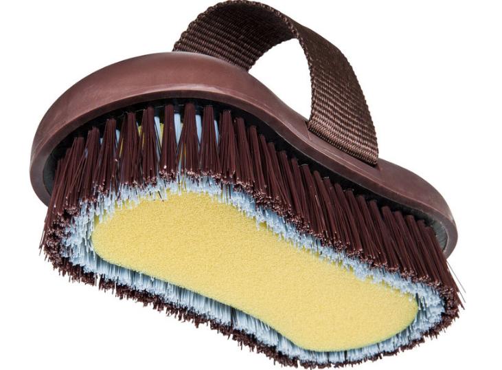 Brosse éponge nylon HIPPO-TONIC Softgrip