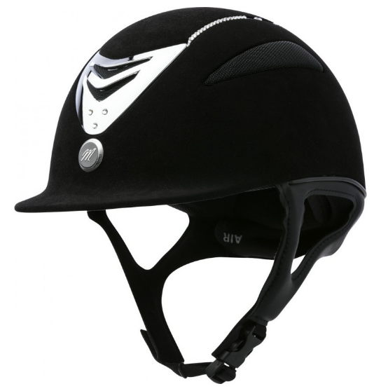 Casque EQUIT\'M Air microfibre et cristal