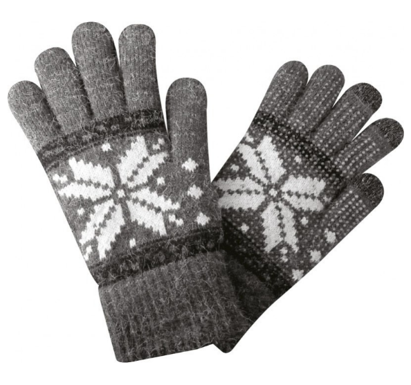 Gants Screentouch Unisize Flocon