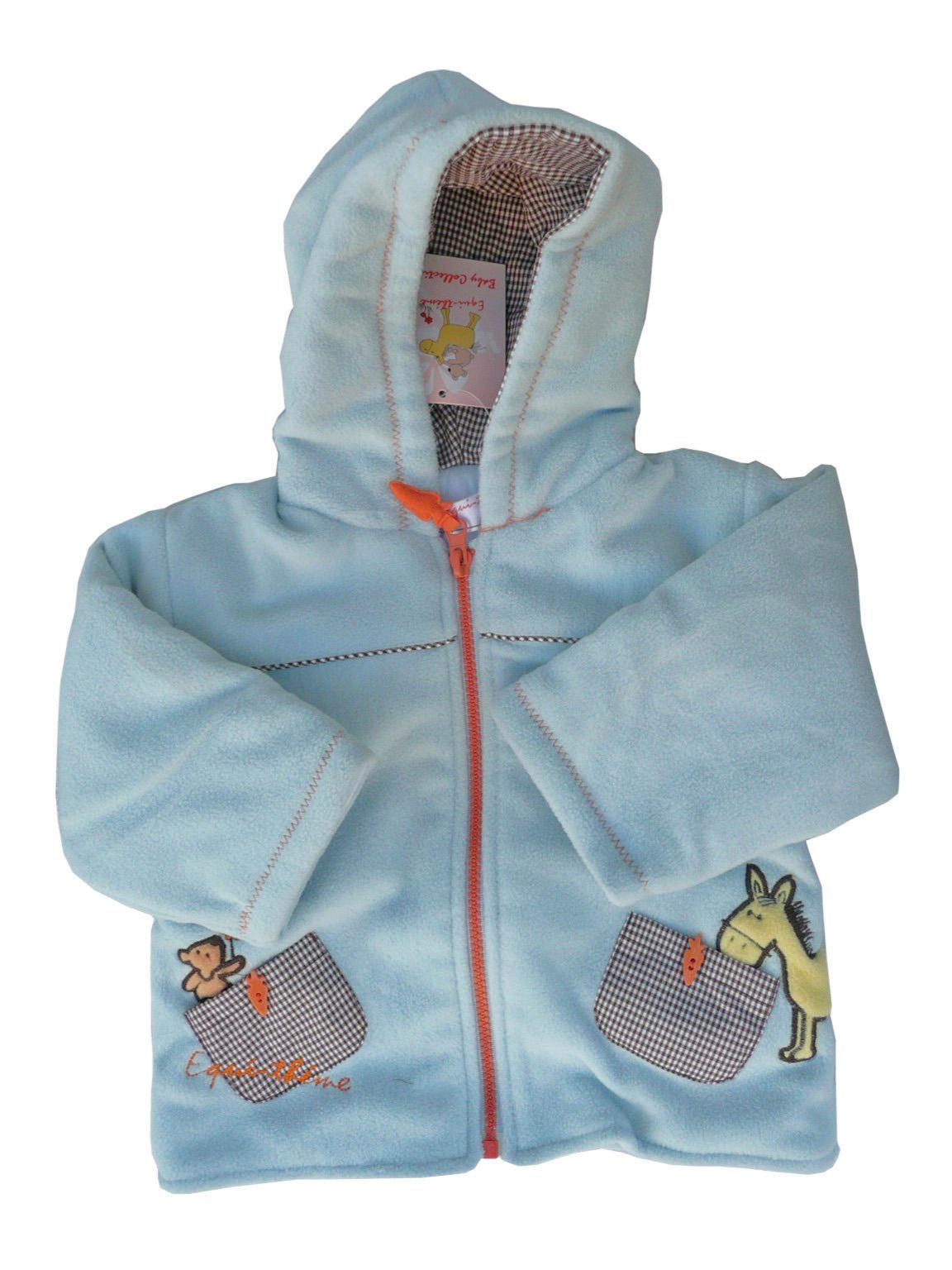 Veste polaire à capuche Bébé EQUI-THÈME