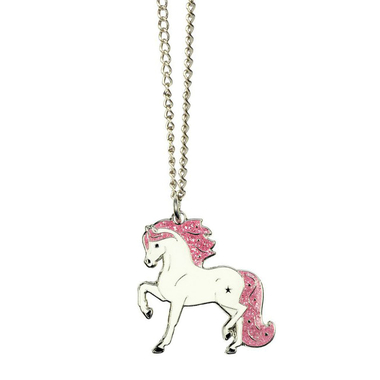 Collier cheval White Star