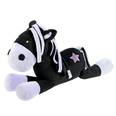 Peluche Pony Black and White Star2