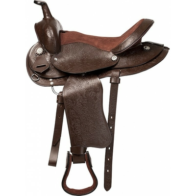Selle western RANDOL'S Topeka pour poney, âne et cheval